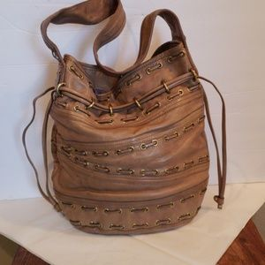 """Kooba Leather Hobo Bucket Bag """"Bryce"""""""